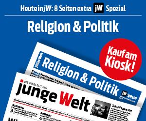 Beilage Religion & Politik, heute