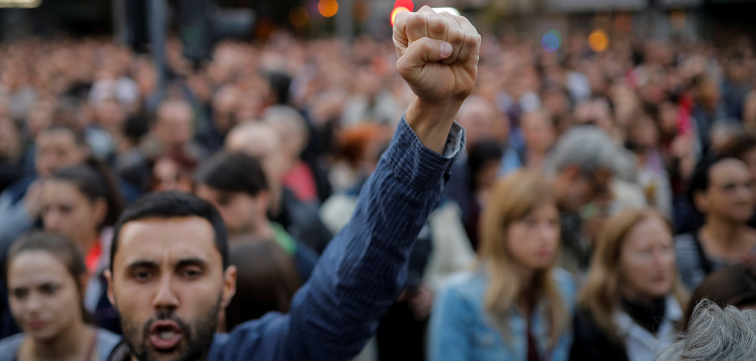 26.04.2019: In Protestlaune (Tageszeitung junge Welt)