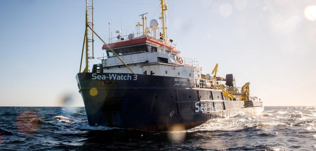 Lage auf »Sea-Watch 3« angespannt