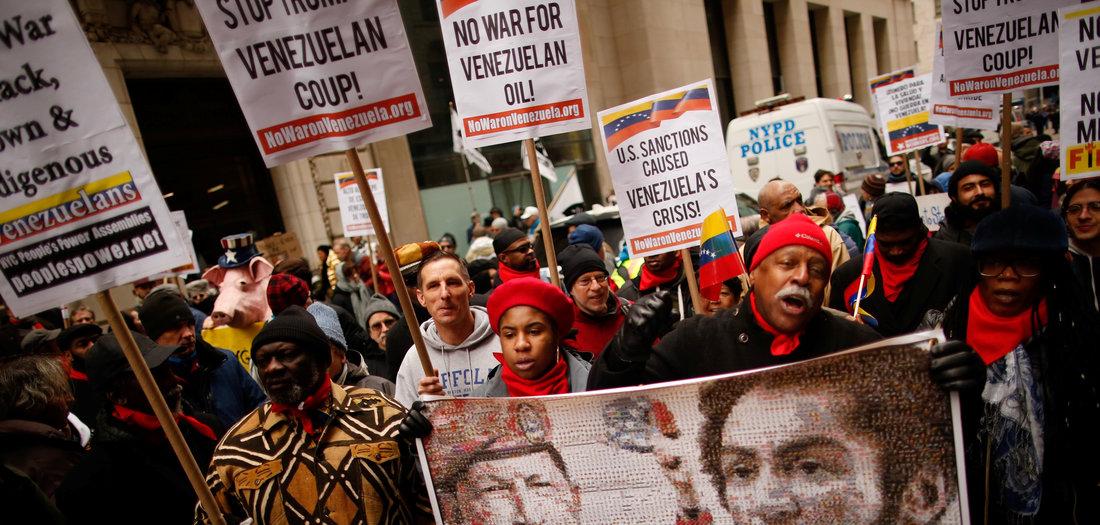 Venezuela: »Trumps Politik ist ein Genozid«