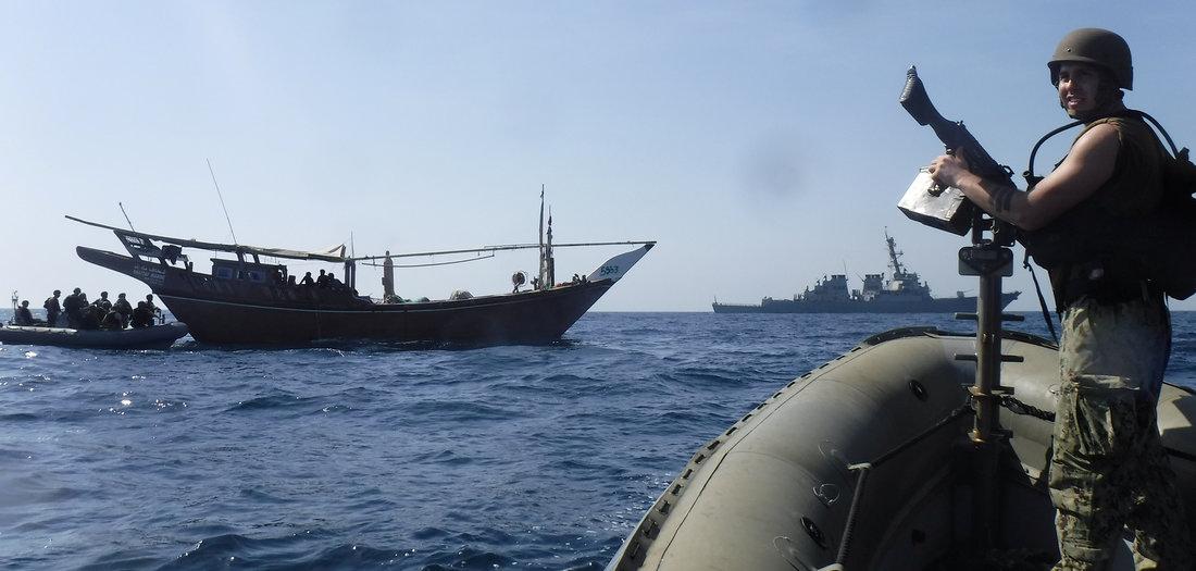 Flotte gegen Teheran