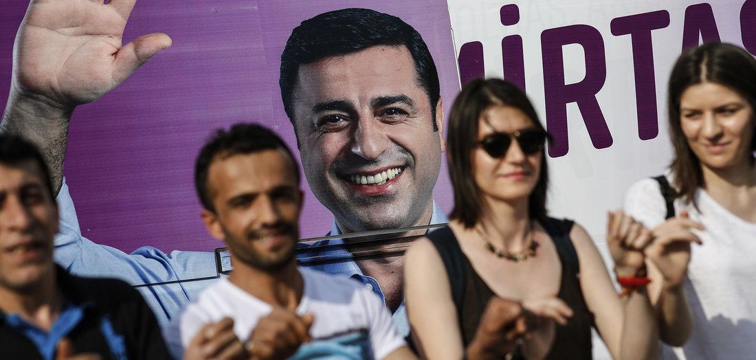 Vor Anhörung im Fall Demirtas: Linke-Politiker fordern Freilassung