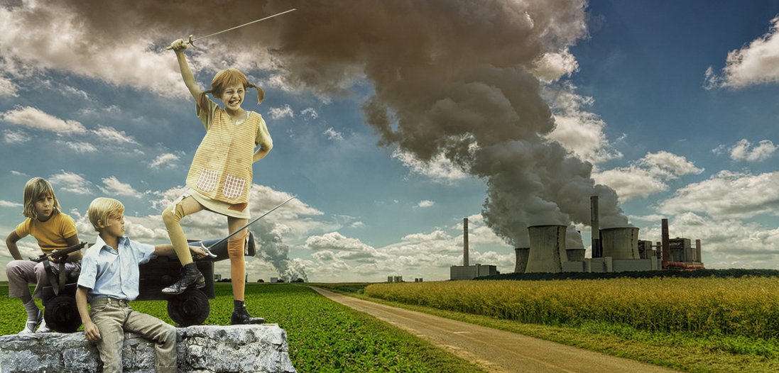 Klassenkeile für Klimakiller