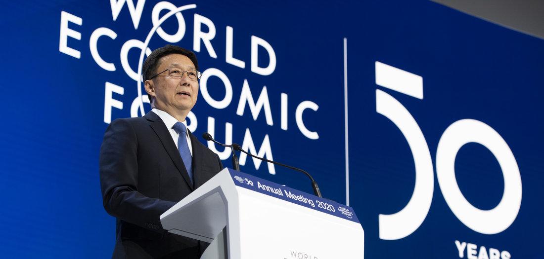 22.01.2020: Weltwirtschaftsforum eröffnet (Tageszeitung junge Welt)