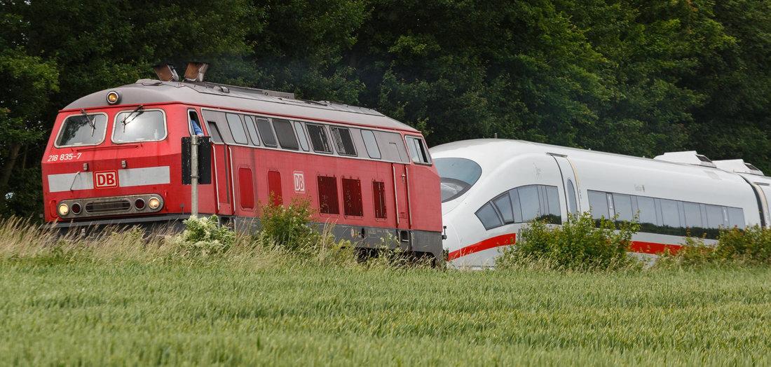 Bahn soll elektrisch werden