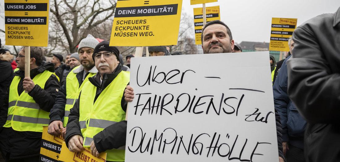 Schützenhilfe für Taxibranche
