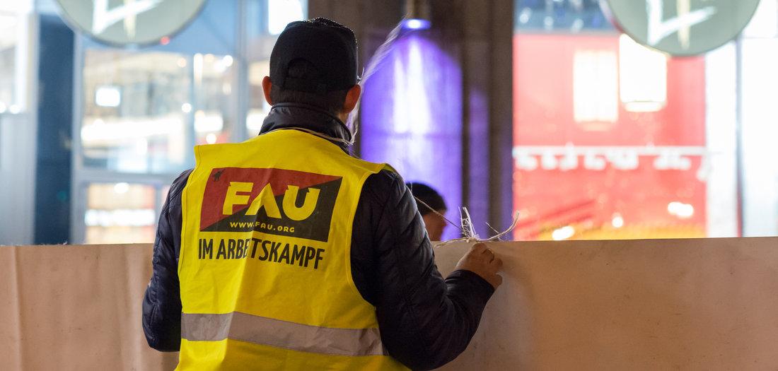 »Müssen zu Arbeitskämpfen und Streiks aufrufen«