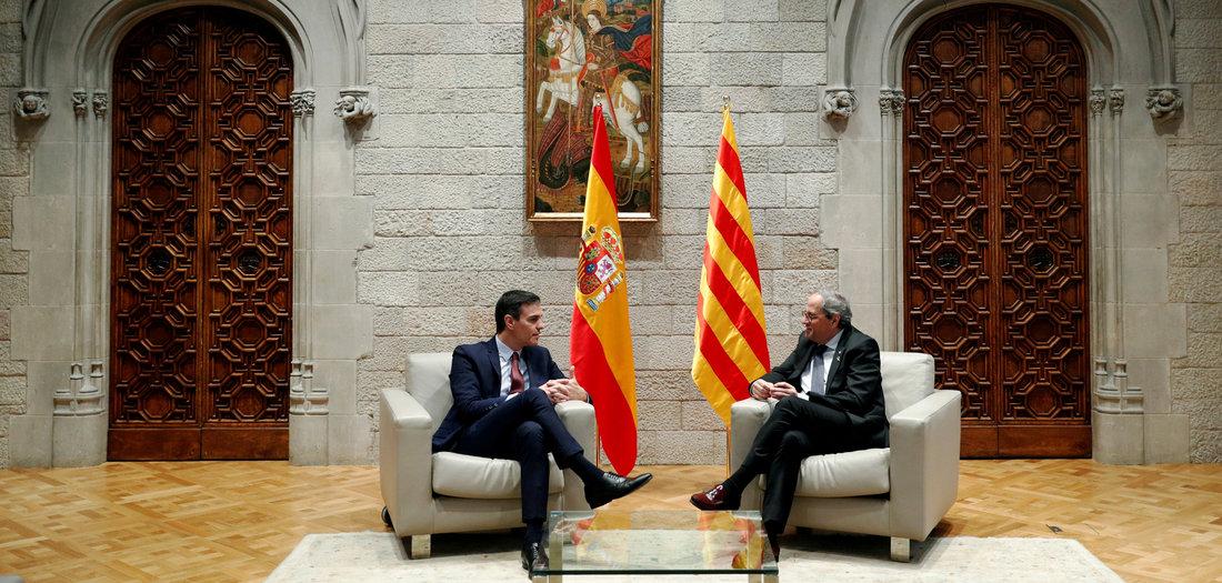 Verhandlungen zu Katalonien gestartet