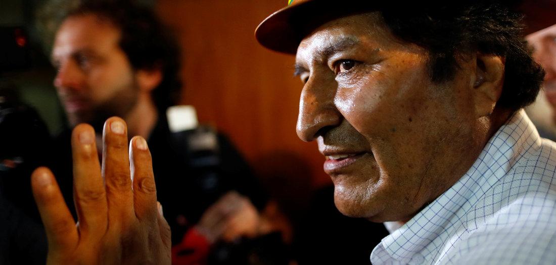 Kampagne gegen Morales