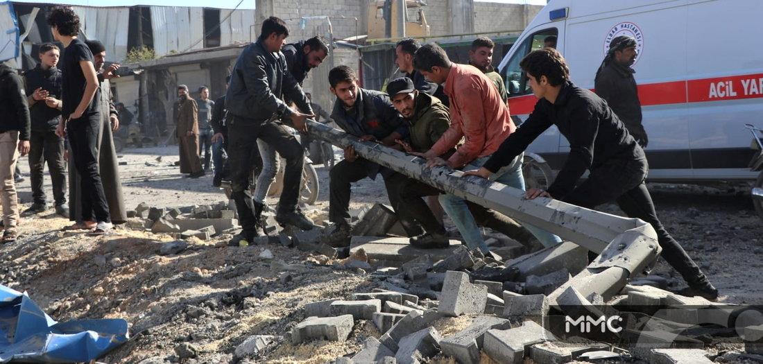 26.11.2020: Bomben und Raketen (Tageszeitung junge Welt)