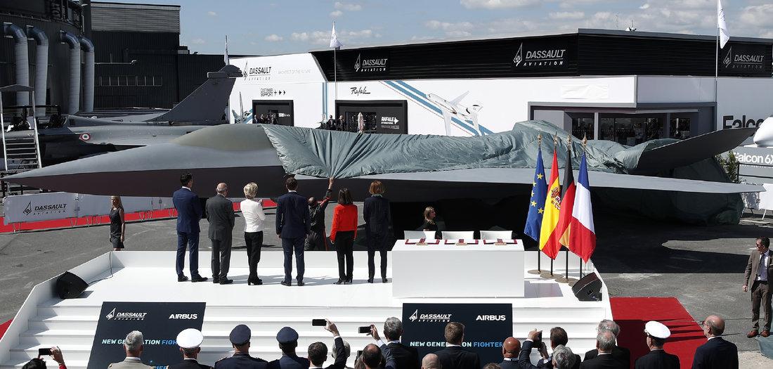 Berlin, Madrid und Paris einig über Rüstungspakt
