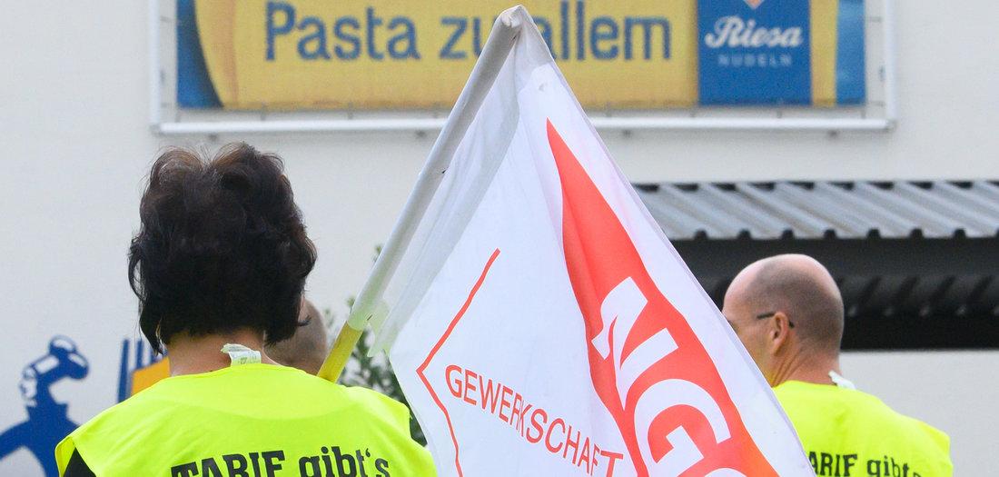NGG ruft zu Streik bei Teigwaren Riesa auf