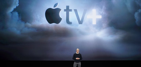 Will mit Apple TV plus den globalen Markt der Streamingdienste a...