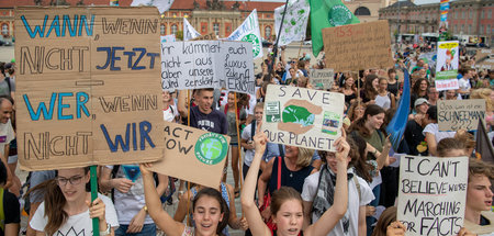 »Fridays for Future« im Potsdamer Lustgarten (30.8.2019)