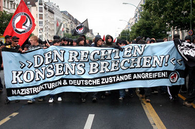 Demonstration am 18. Juli in Berlin-Friedrichshain