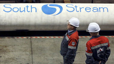 »South Stream«-Pipelinebauer in Nischni Nowgorod (15...