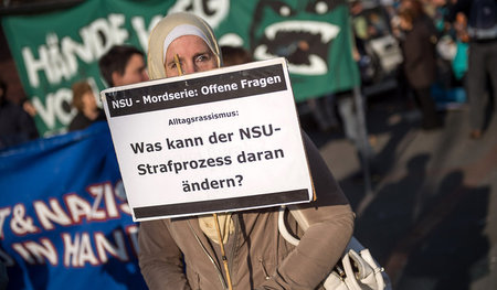 Demonstration am 1. November 2014 in Berlin: Drei Jahre zuvor en...