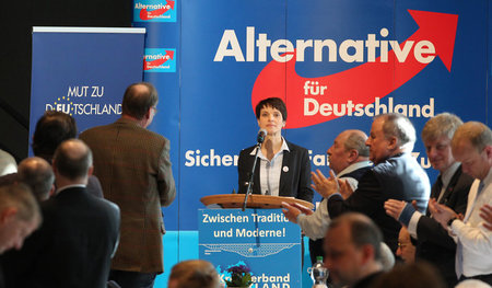 Frauke Petry, Bundesvorsitzende der Partei Alternative für Deuts...