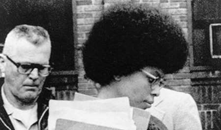 Assata Shakur am 25. April 1977 in New Brunswick (New Jersey) na...