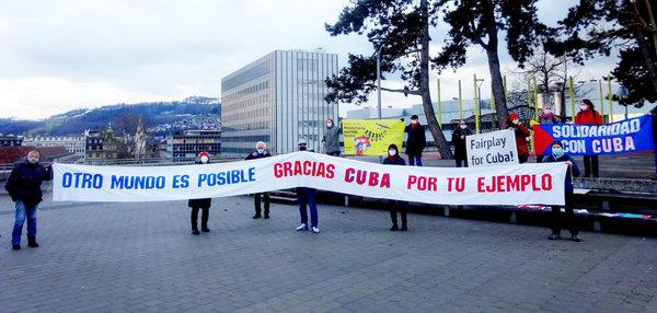 Vereinigung Schweiz-Cuba gegen die Blockade