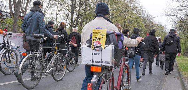 Protest gegen die US-Blockade