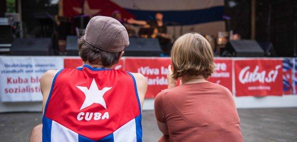 Solidaritätsfest von Cuba Sí