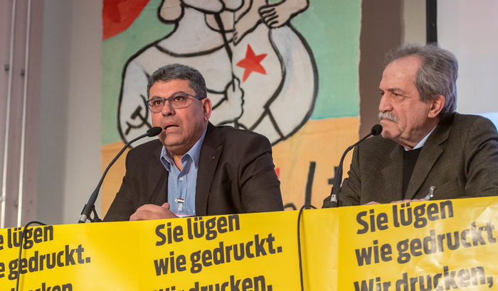 Adel Amer auf der Konferenz. Foto: Christian-Ditsch.de