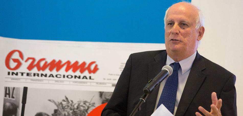 kubanischer Botschafter Ramón Ignacio Ripoll Díaz