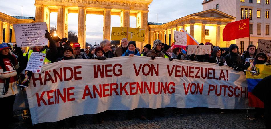 Solidarität mit Venezuela