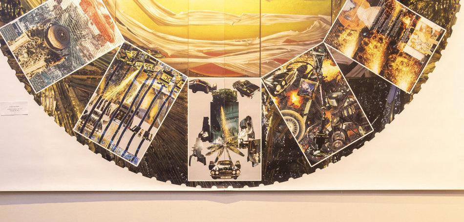 »Endstation Autoplanet« von Clementine Klein. Foto: Quim/jW