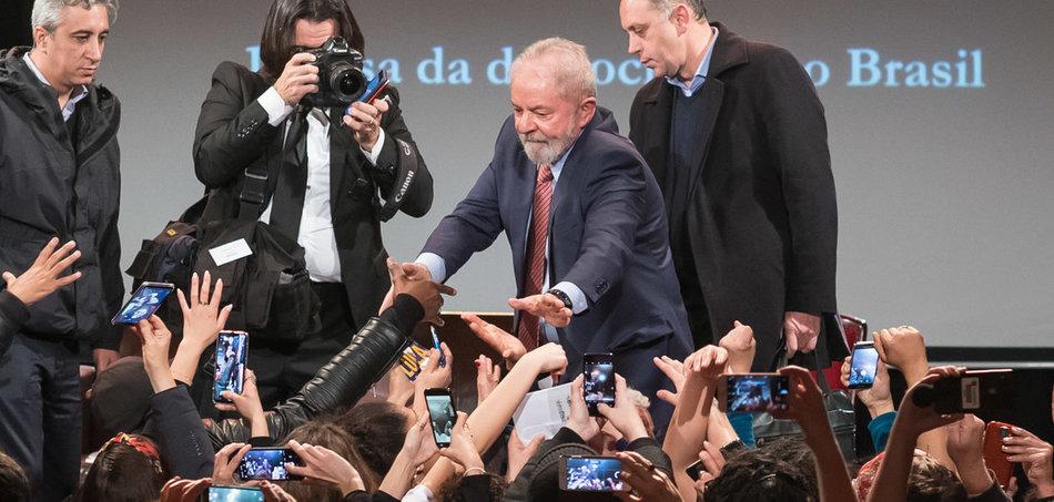 Lula in Berlin