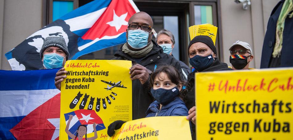 Solidarität mit Kuba