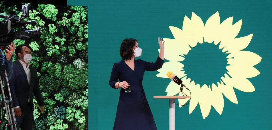 Grüne Kanzlerkandidatin – Grüne zu allem bereit