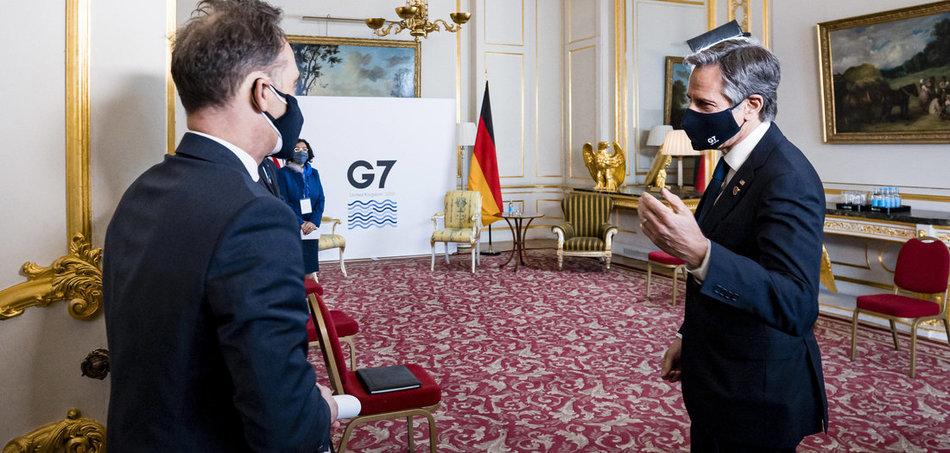 G-7-Außenministertreffen – Gewaltige Worte